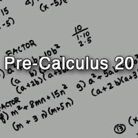 Pre-Calculus 20 [Morgan]