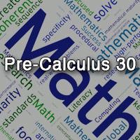 Pre-Calculus 30